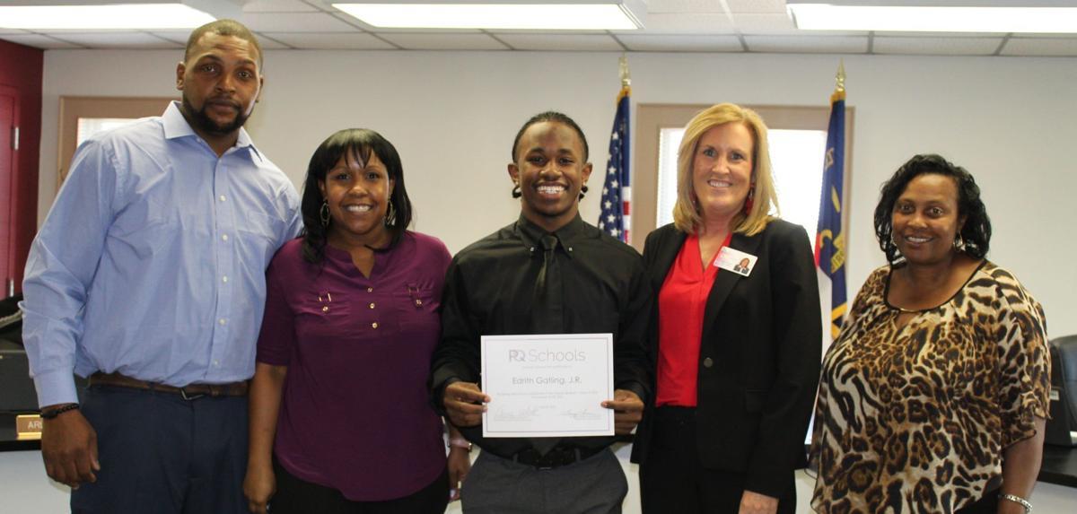 PQ School Board Recognizes Top Students