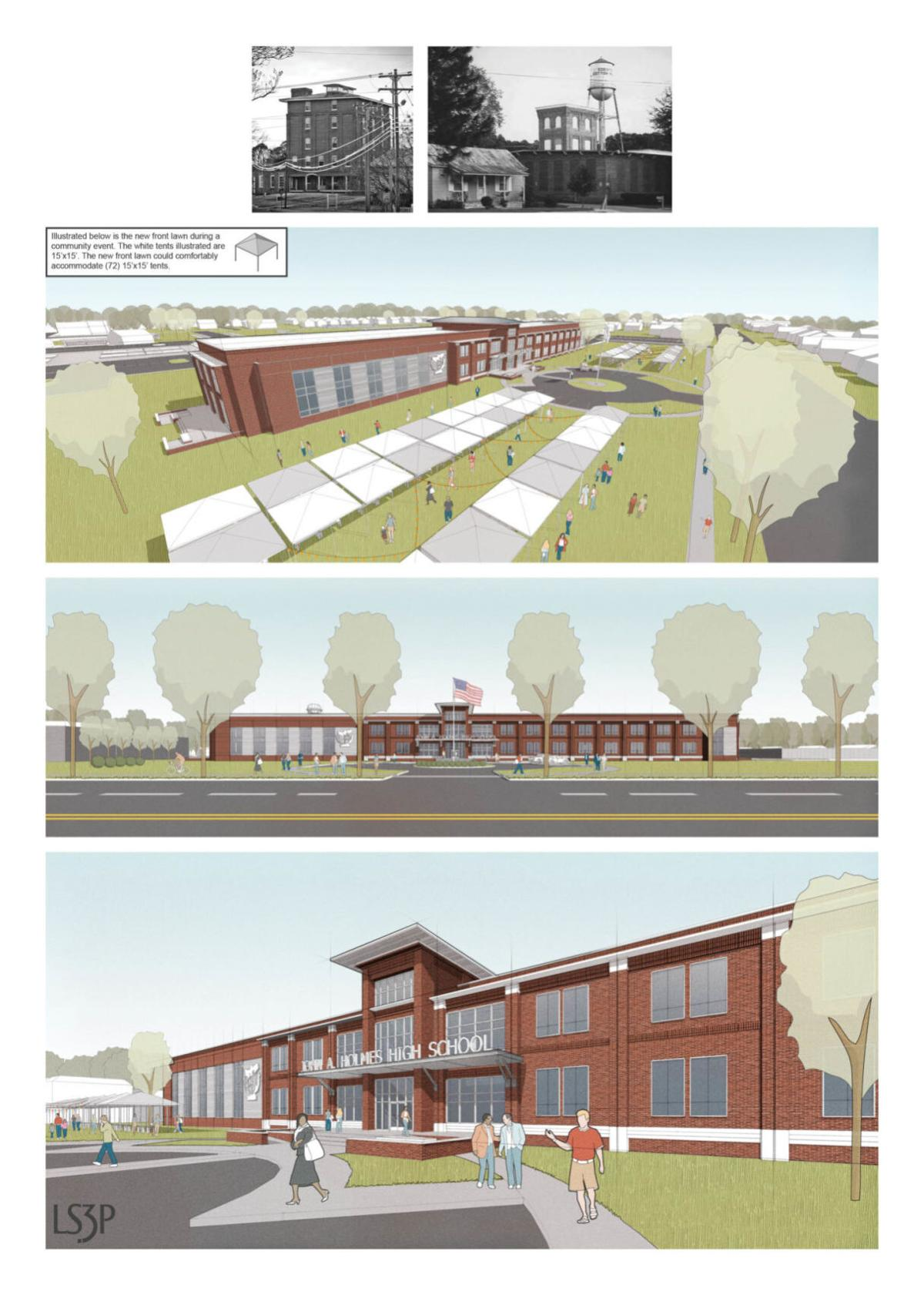 Story 3: Proposed design for new high school