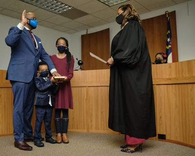 New City Manager Sworn In