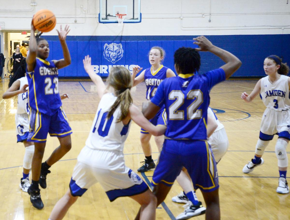 Edenton vs. Camden girls' basketball