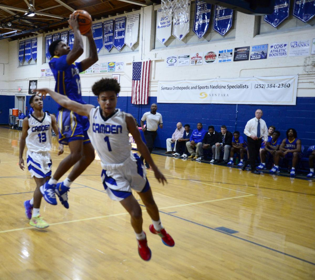 Edenton vs. Camden boys' basketball