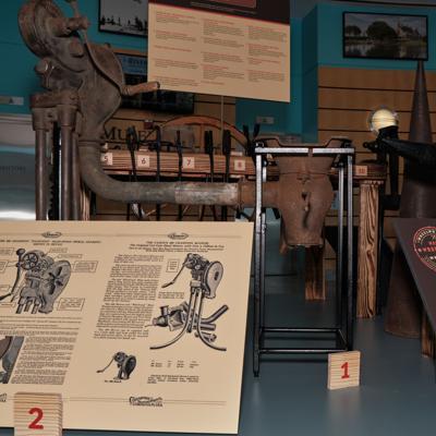 moa blacksmith exhibit
