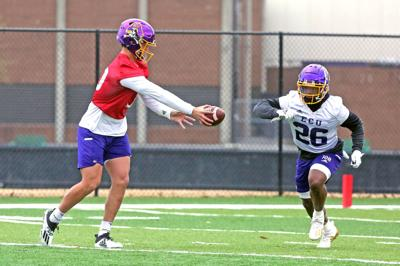ECU holds first spring football practice 7 (copy)