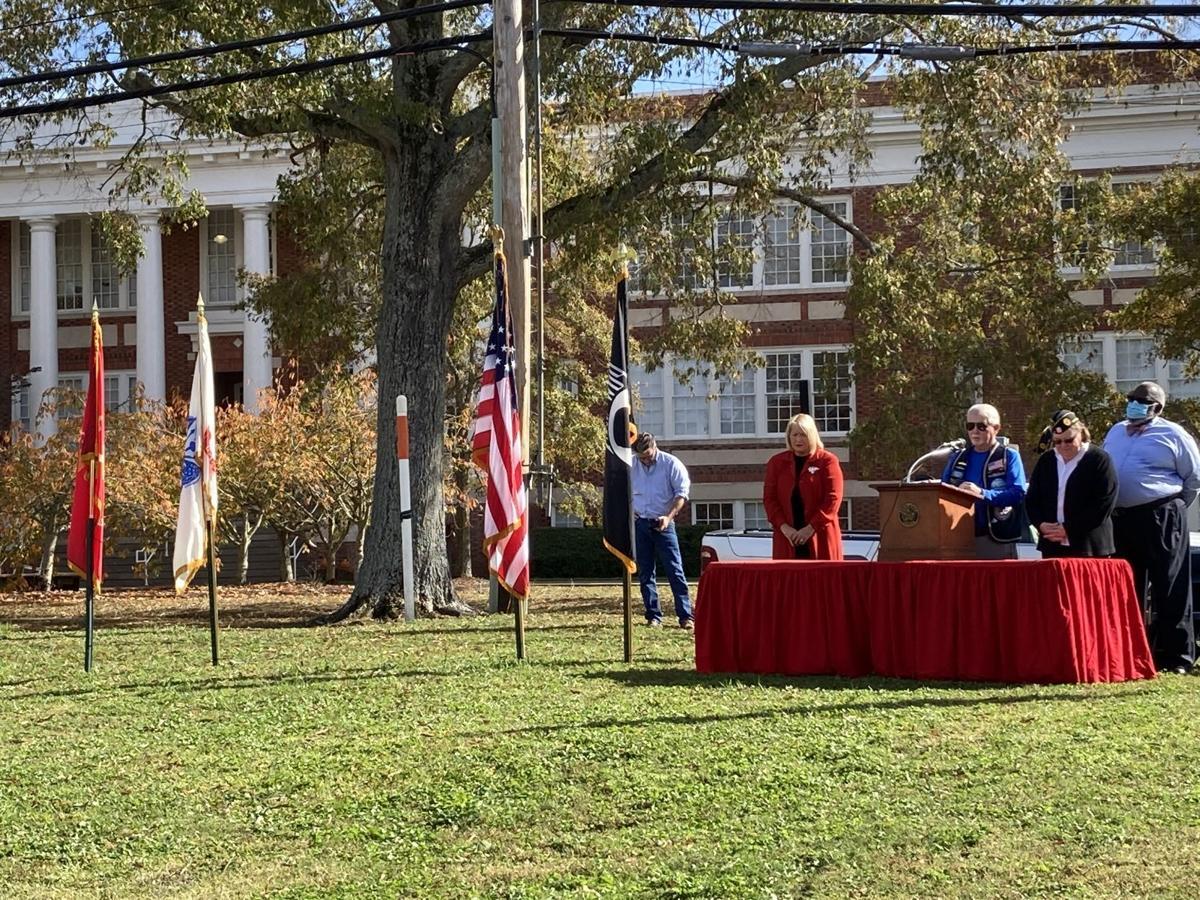 Chowan County Veterans Day ceremony