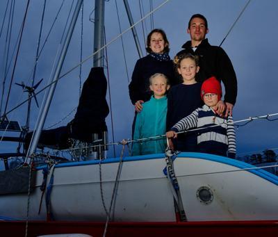 German sailing family