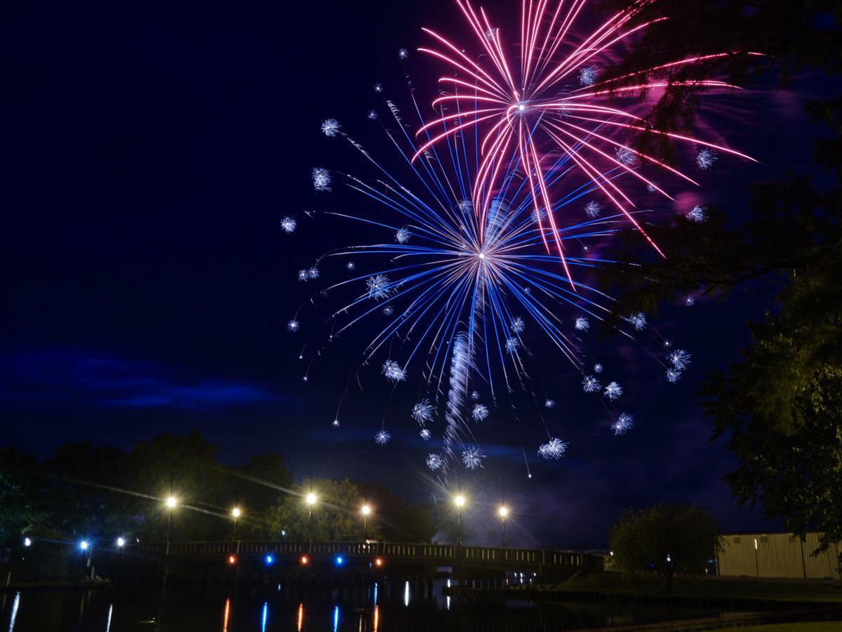 EC Independence Day fireworks, 2021