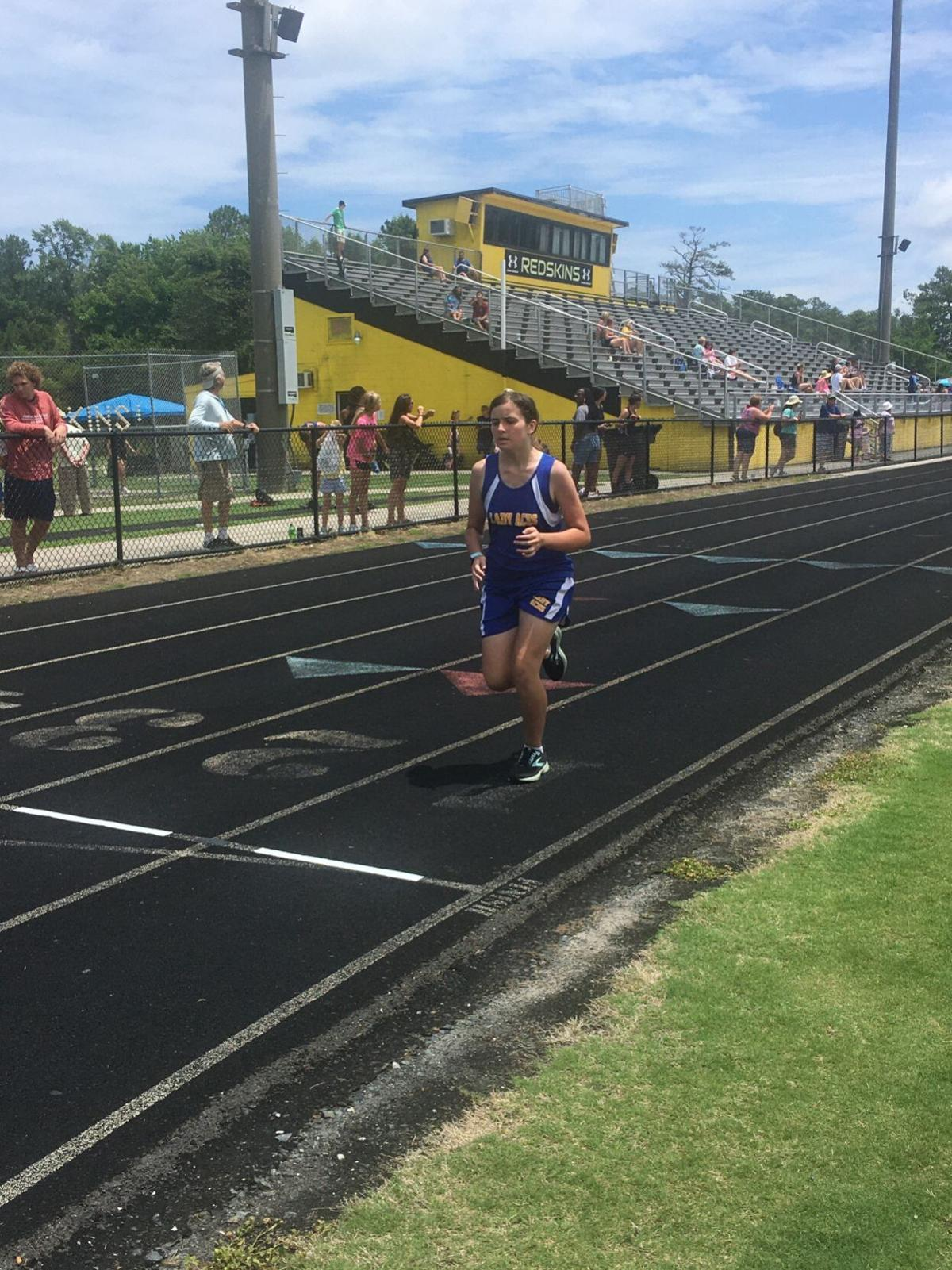 AAC track meet -- John A. Holmes High School