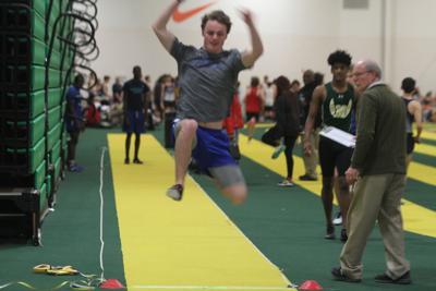John A. Holmes High School indoor track