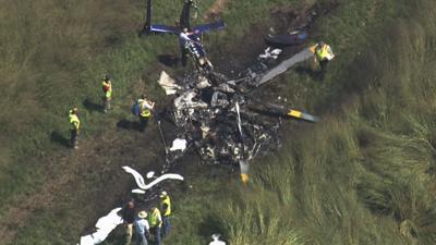Medical Helicopter Crash-2