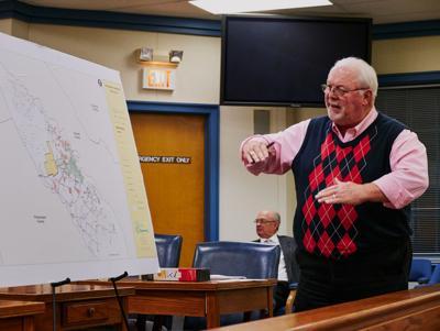 Rodney Tart, water meeting, Jan. 14