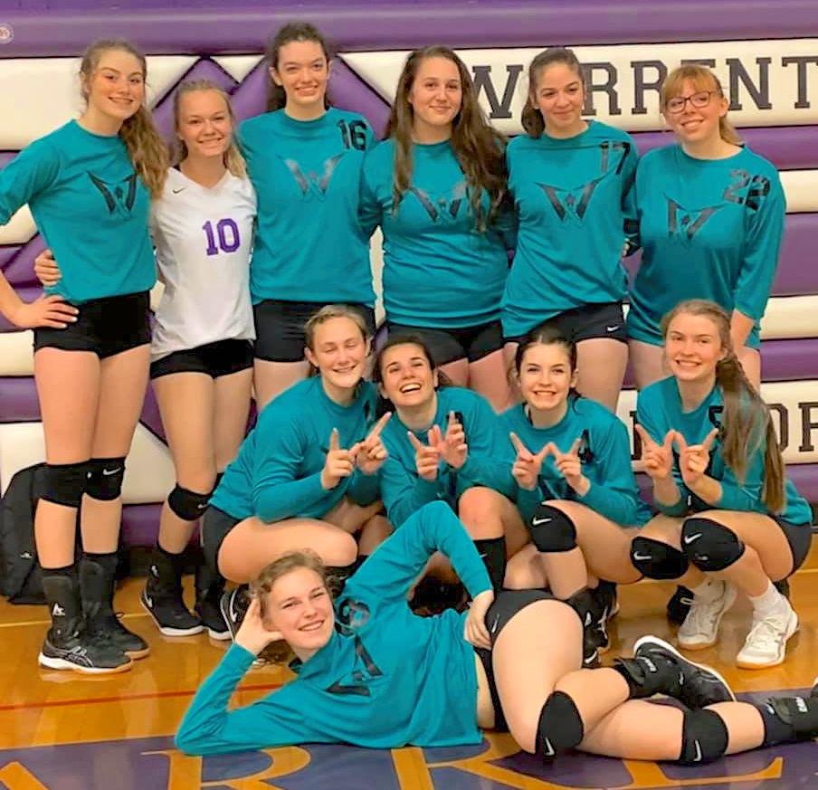 Warrenton volleyball team