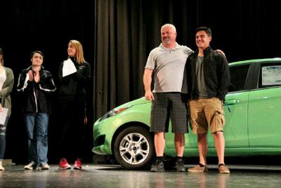 Contest nets senior a new car