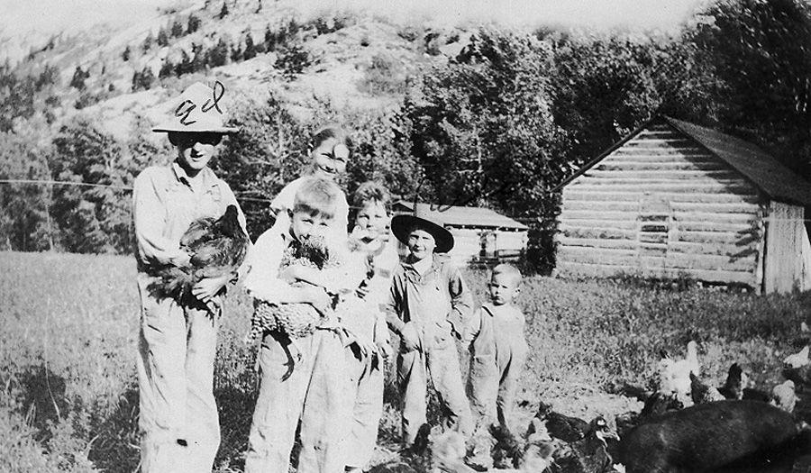 North Fork Ranch kids