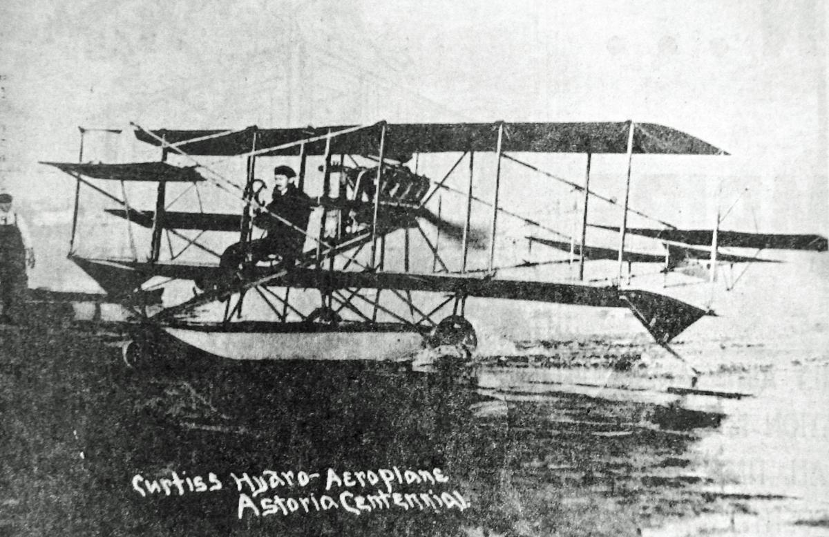 Curtiss biplane
