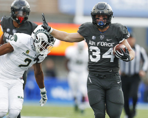 STAT WATCH: Fagan's 260 yards set Air Force fullback record