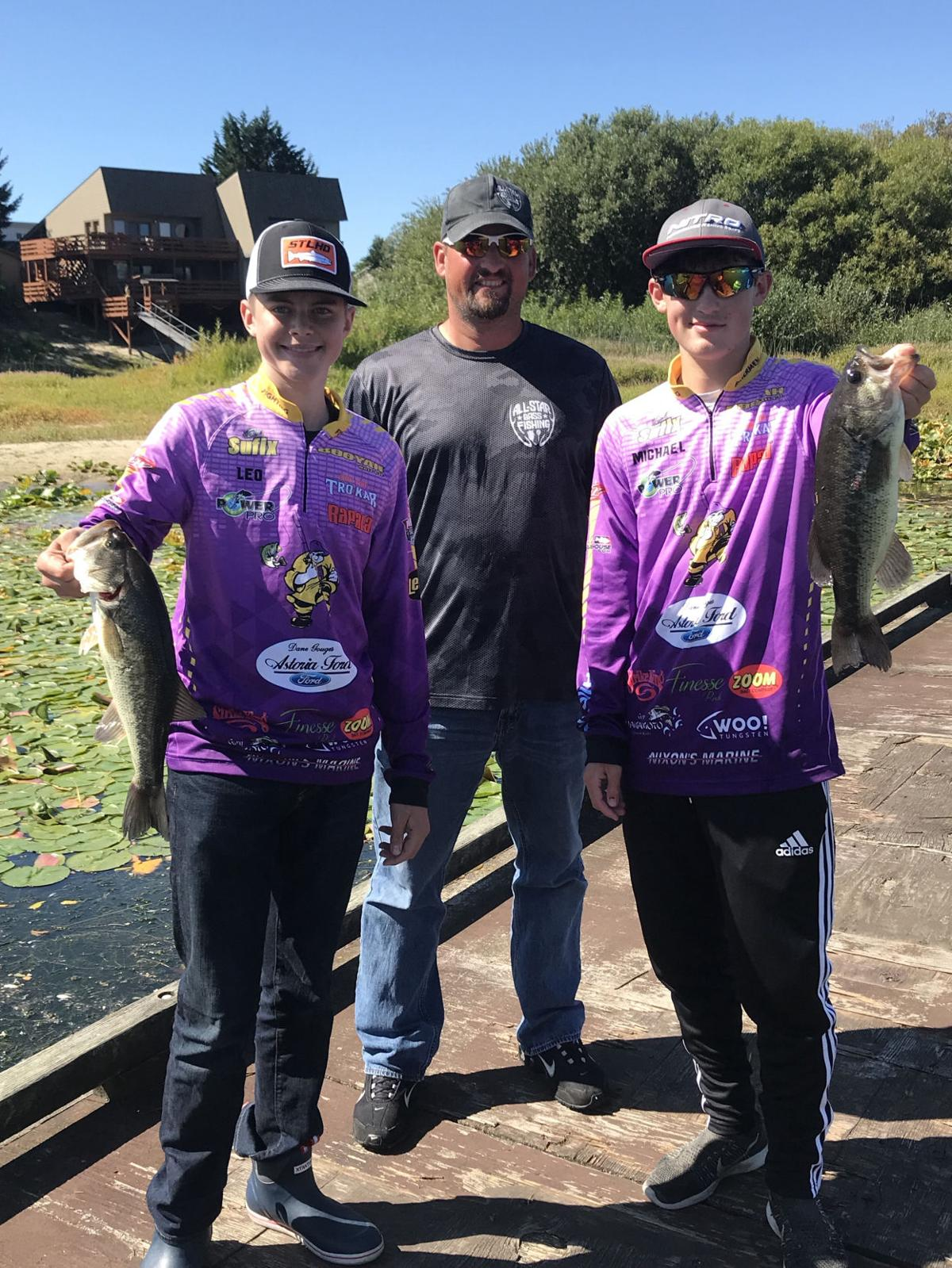 Astoria's fishermen third in latest tournament