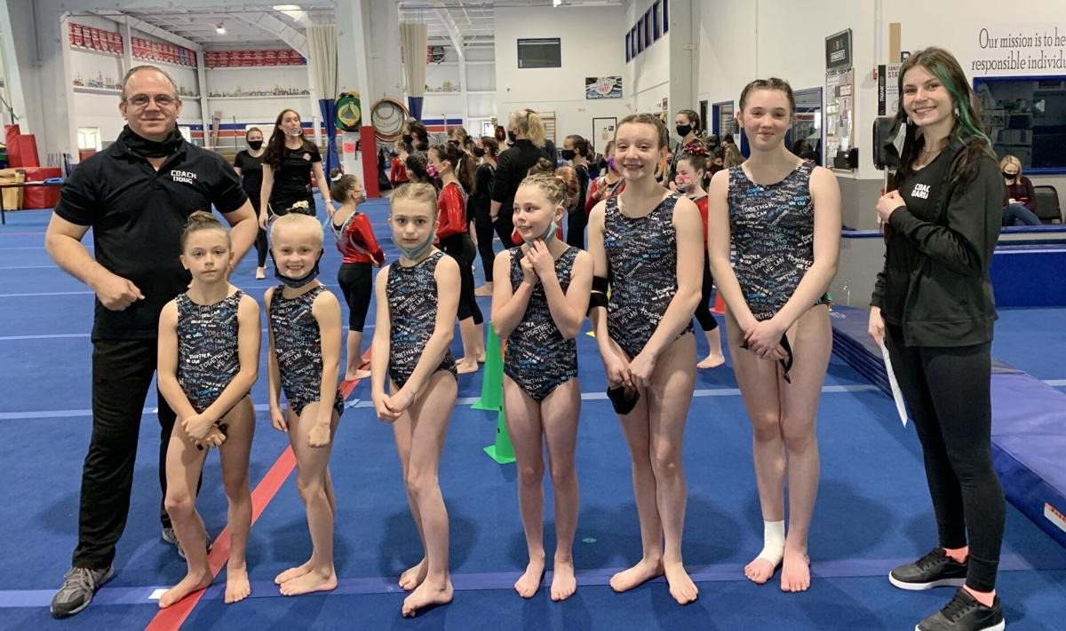 Gymnastics, silver team
