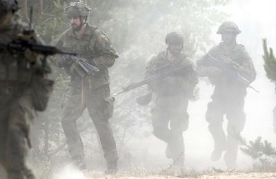 Lithuania NATO Military Exercise