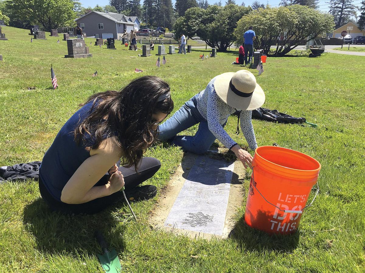 Cemetery gets some love | Local News | dailyastorian com