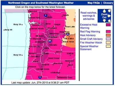Red flag warning issued for forest fire danger and lightning ...