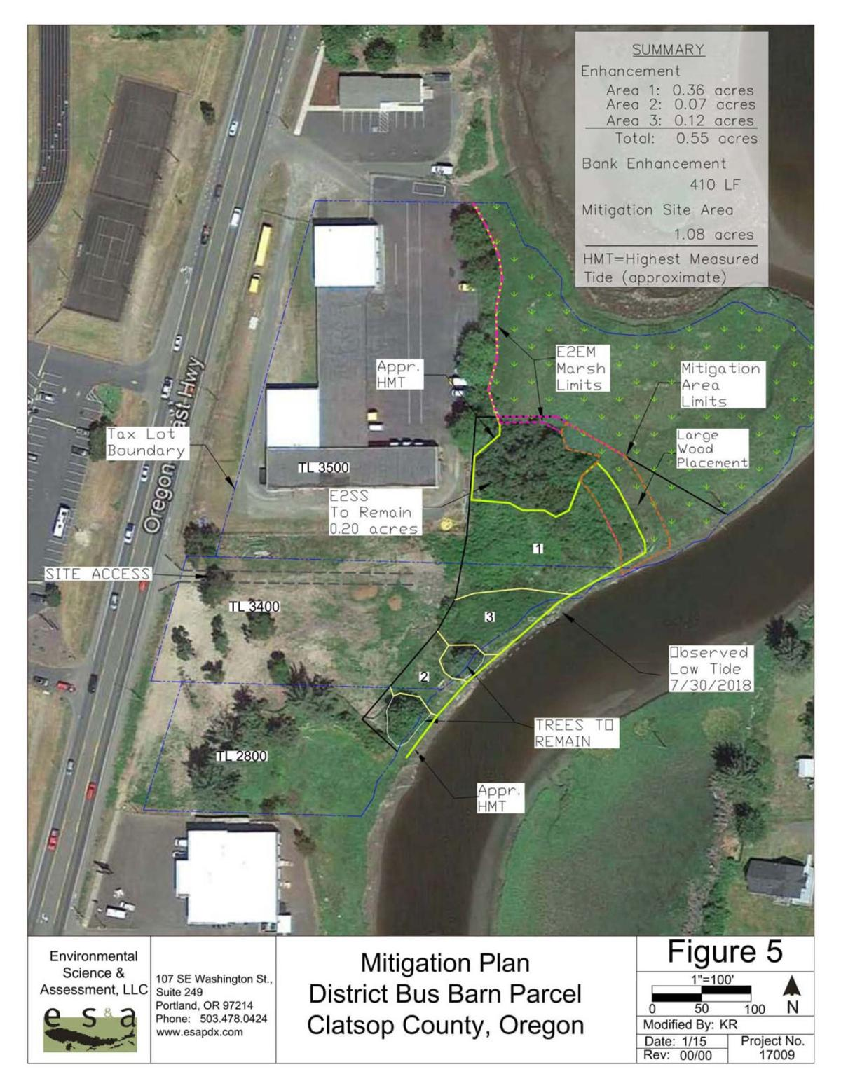 Seaside shifts to 'caution' on school project