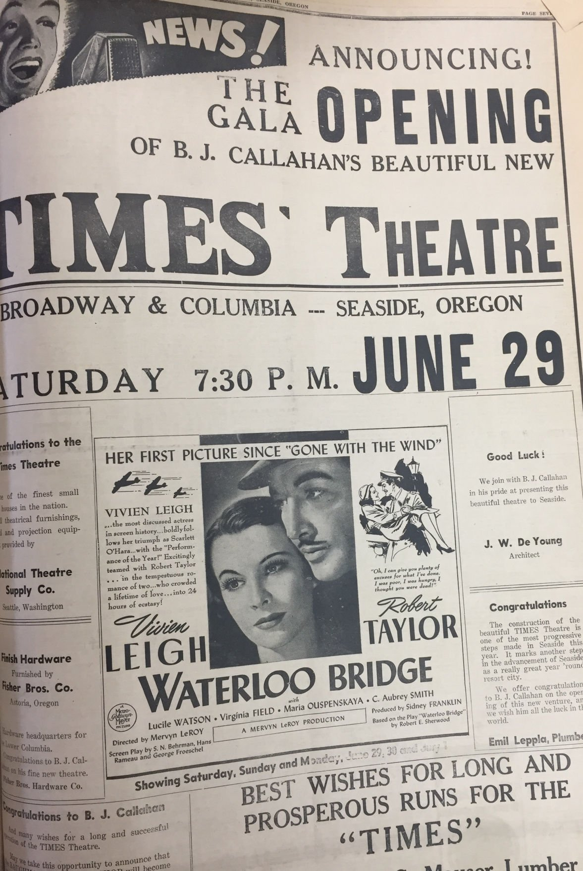 The Times Theatre returns to Seaside