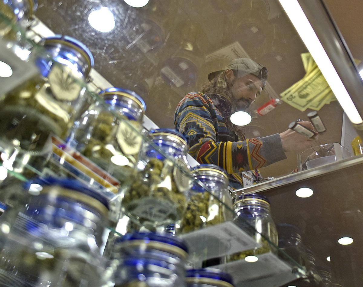 Pot stores find strength in numbers