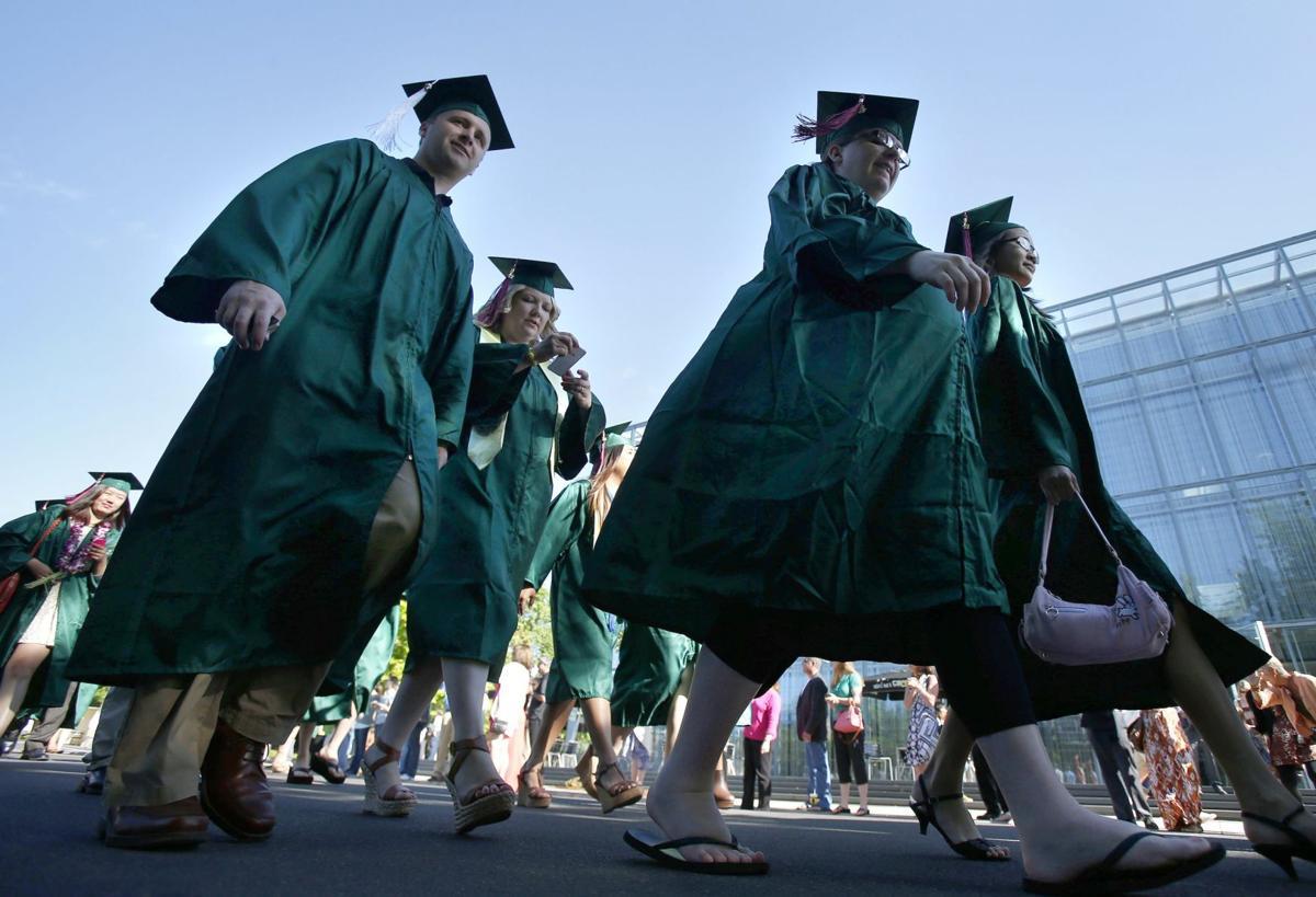University of Oregon graduates