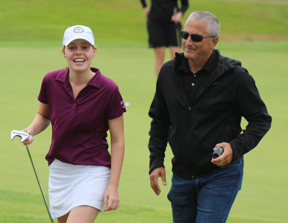 Grace Tennant, golfer