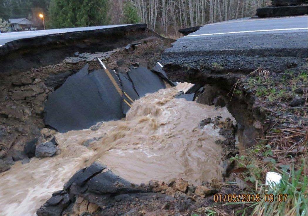 Repairing highway damage could take 'days or longer'