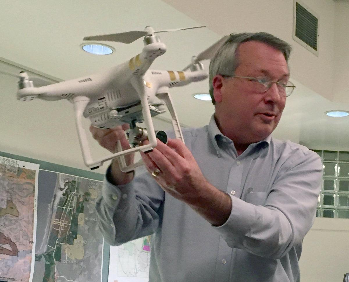 Drone rules up in the air