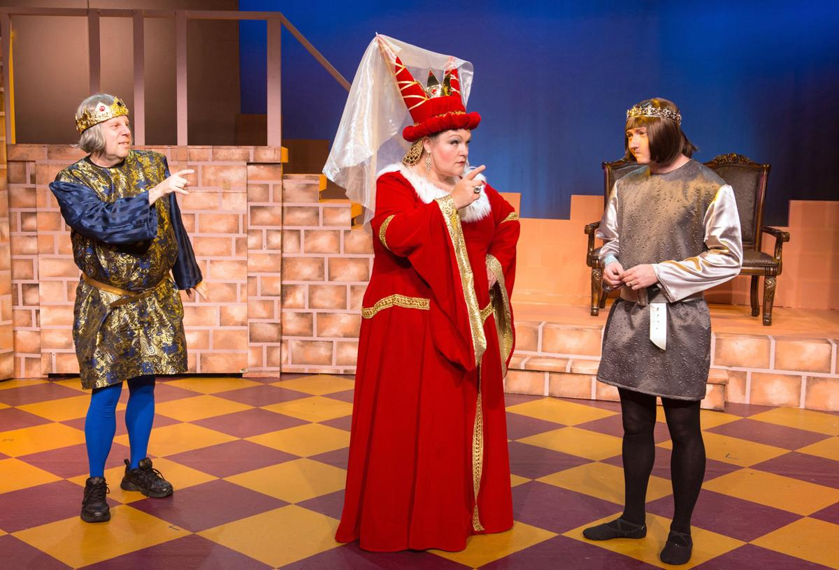 'Once Upon a Mattress' Zany musical farce lights up the Coaster Theatre stage this holiday season