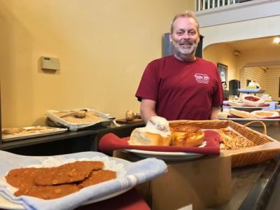 Local baker, chef sets his own table