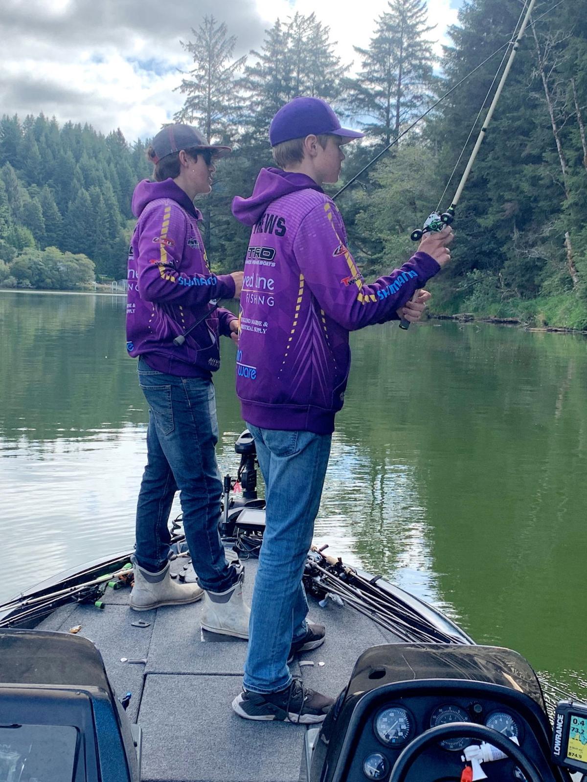 Michael Postlewait, Leo Matthews, Astoria fishermen