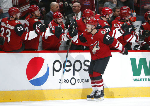 Grabner scores in OT to give Coyotes 5th straight win