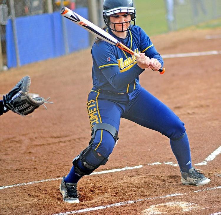 Naselle's Lily Harman, softball