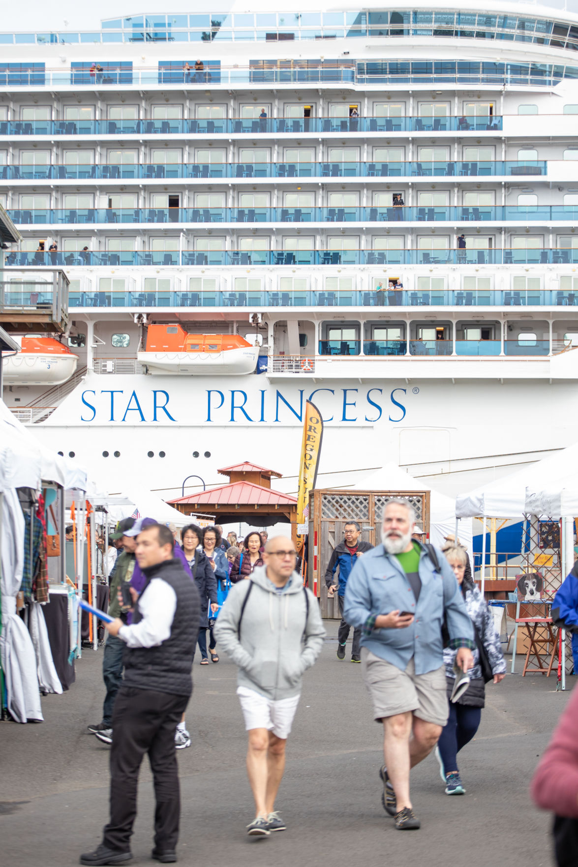 Star Princess tourists