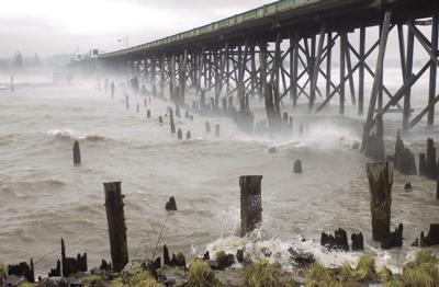 Coastal gale
