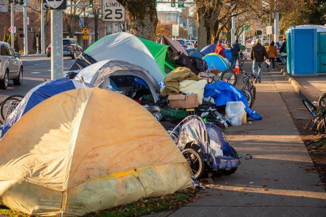 Homeless in Salem