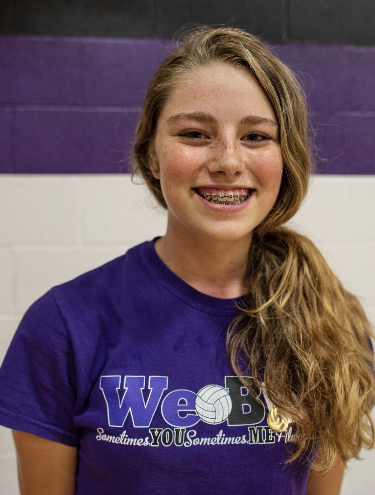 Mia McFadden, Warrenton volleyball