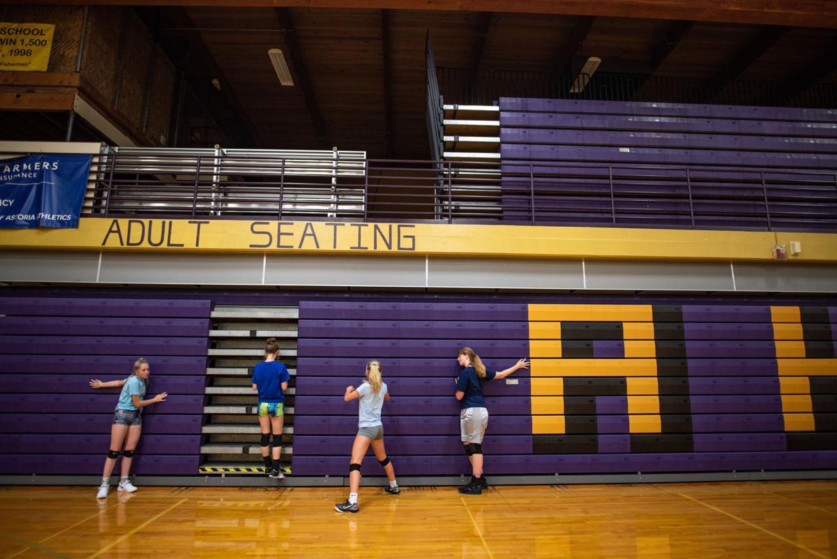 AHS Volleyball Warm-up