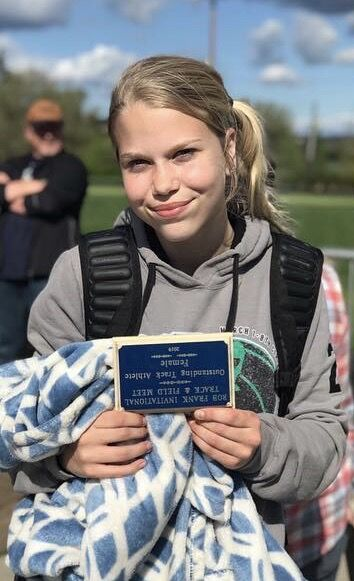 Maddie Sisley, award