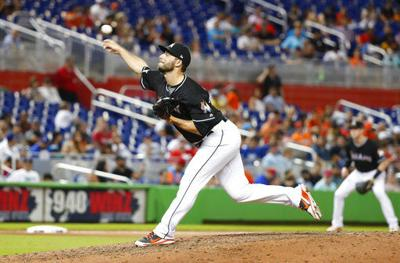 Nats get Barraclough from Marlins for $1M in slot allotment