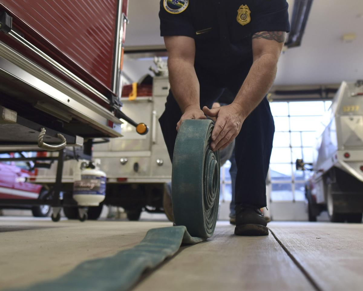 Fire chief seeks two full-time firefighters
