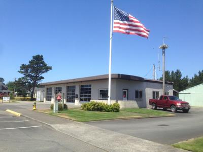 Gearhart fire station