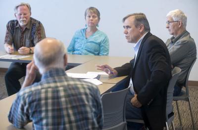 US Sen. Merkley visits Astoria