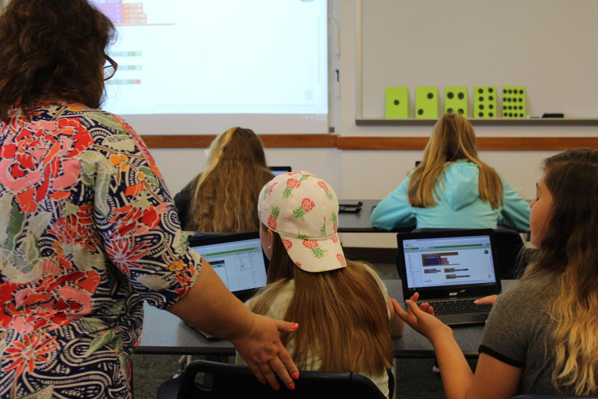 Camp puts girls on STEM track