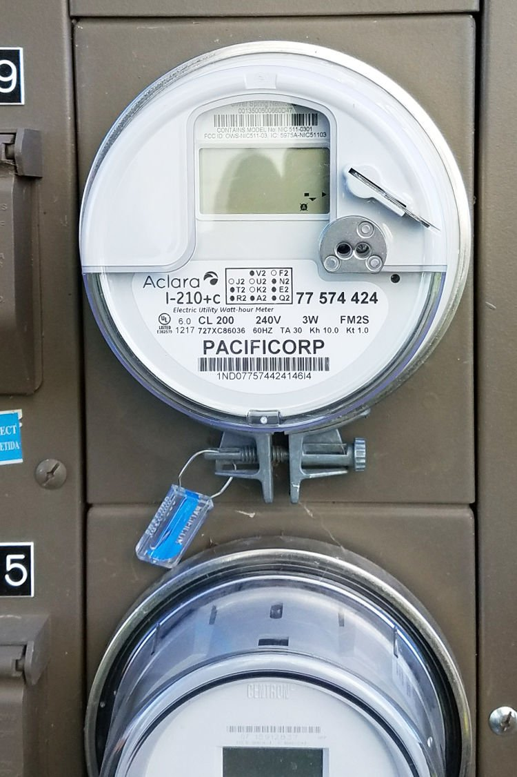 Pacific Power smart meter