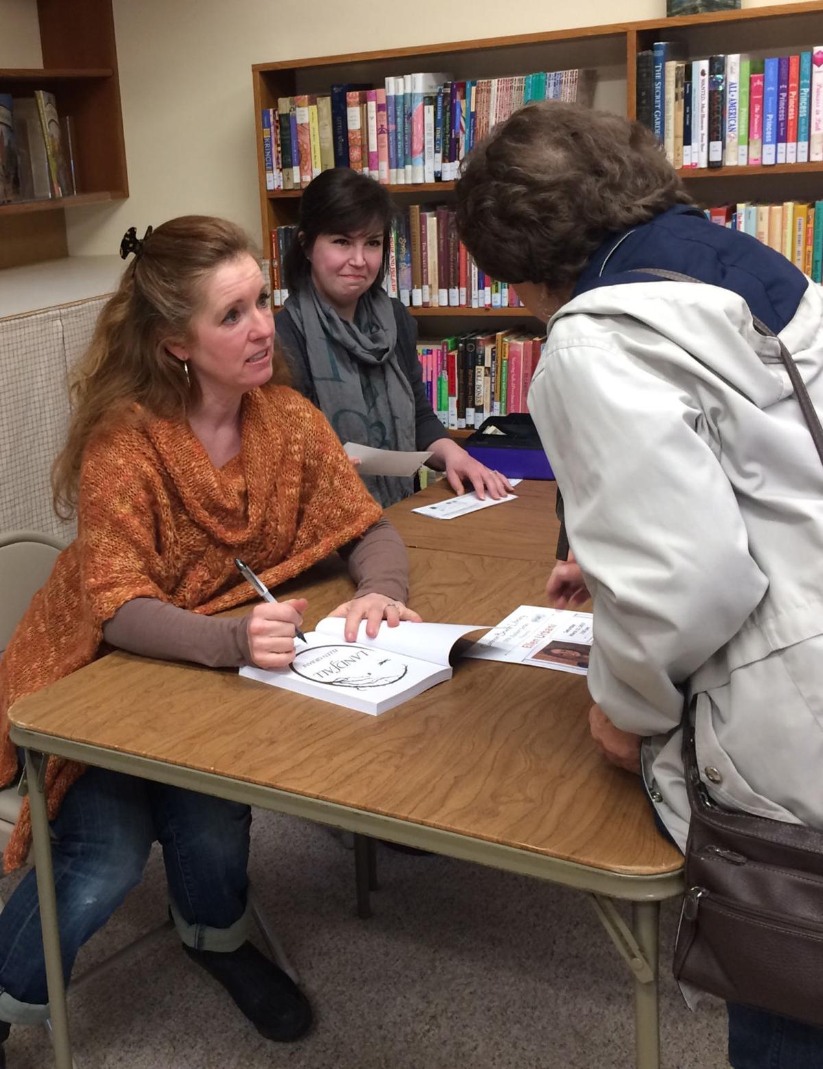 Ellen Urbani at the Cannon Beach Library