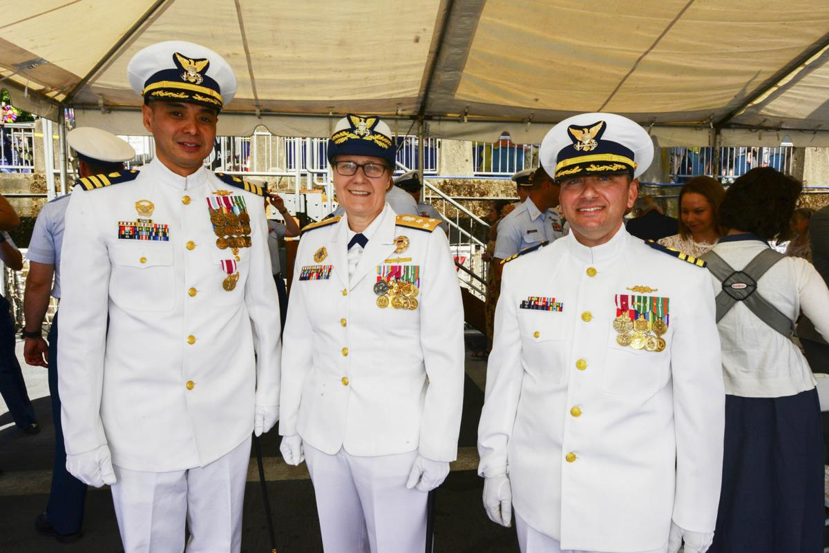 Steadfast change of command